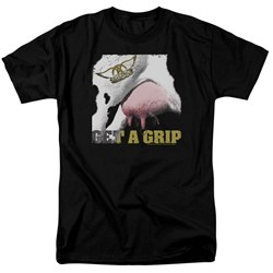 Aerosmith - Mens Gripped T-Shirt
