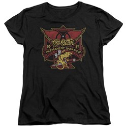 Aerosmith - Womens Permanent Vacation T-Shirt