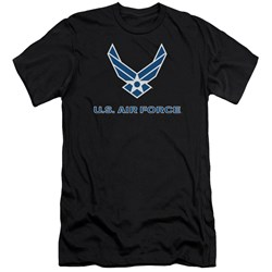 Air Force - Mens Logo Premium Slim Fit T-Shirt