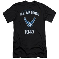 Air Force - Mens Property Of Premium Slim Fit T-Shirt