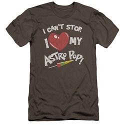 Astro Pop - Mens I Heart Premium Slim Fit T-Shirt