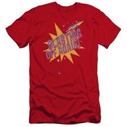 Astro Pop - Mens Blast Off Premium Slim Fit T-Shirt