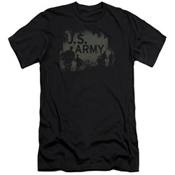 Army - Mens Soldiers Premium Slim Fit T-Shirt