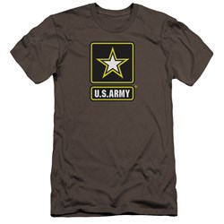 Army - Mens Logo Premium Slim Fit T-Shirt
