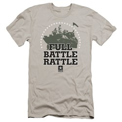 Army - Mens Full Battle Rattle Premium Slim Fit T-Shirt