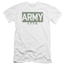 Army - Mens Block Premium Slim Fit T-Shirt