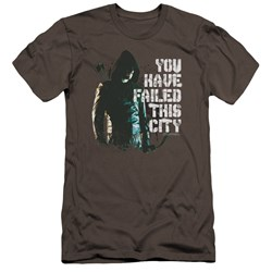 Arrow - Mens You Have Failed Premium Slim Fit T-Shirt