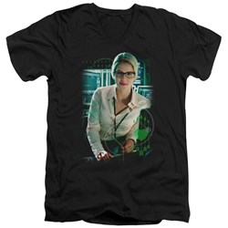Arrow - Mens Felicity Smoak V-Neck T-Shirt