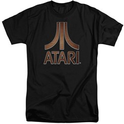 Atari - Mens Classic Wood Emblem Tall T-Shirt