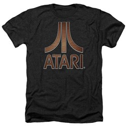 Atari - Mens Classic Wood Emblem Heather T-Shirt