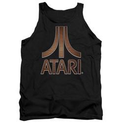 Atari - Mens Classic Wood Emblem Tank Top