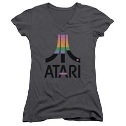 Atari - Juniors Breakout Inset V-Neck T-Shirt