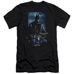 Batman Arkham Knight - Mens Batmobile Premium Slim Fit T-Shirt