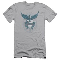 Bon Jovi - Mens Winged Heart Slim Fit T-Shirt
