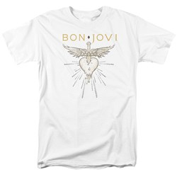 Bon Jovi - Mens Greatest Hits T-Shirt