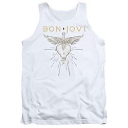 Bon Jovi - Mens Greatest Hits Tank Top