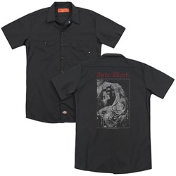 Andy Black - Mens Grief (Back Print) Work Shirt