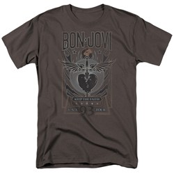 Bon Jovi - Mens Keep The Faith T-Shirt