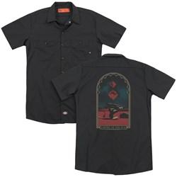 Empire Of The Sun - Mens Balance (Back Print) Work Shirt