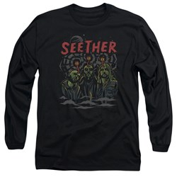 Seether - Mens Mind Control Long Sleeve T-Shirt