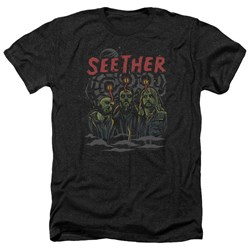 Seether - Mens Mind Control Heather T-Shirt