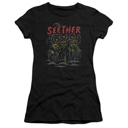 Seether - Juniors Mind Control Premium Bella T-Shirt