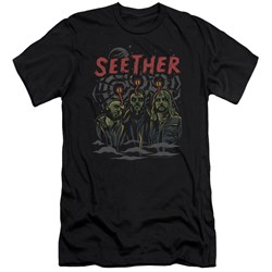 Seether - Mens Mind Control Premium Slim Fit T-Shirt