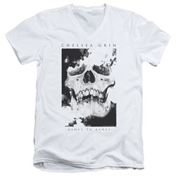 Chelsea Grin - Mens Ashes To Ashes V-Neck T-Shirt