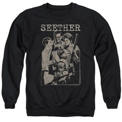 Seether - Mens Happy Family Sweater