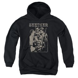 Seether - Youth Happy Family Pullover Hoodie