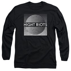 Night Riots - Mens Title Long Sleeve T-Shirt