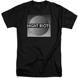 Night Riots - Mens Title Tall T-Shirt