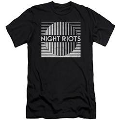 Night Riots - Mens Title Premium Slim Fit T-Shirt