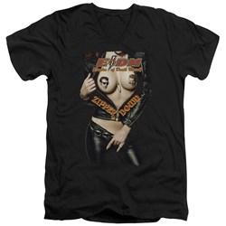 Eagles Of Death Metal - Mens Zipper Down V-Neck T-Shirt