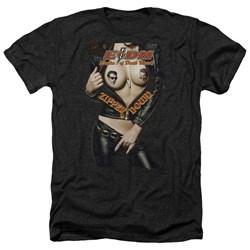 Eagles Of Death Metal - Mens Zipper Down Heather T-Shirt