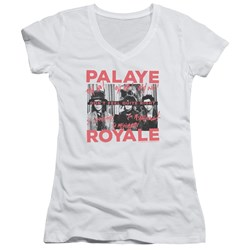 Palaye Royale - Juniors Oh No V-Neck T-Shirt