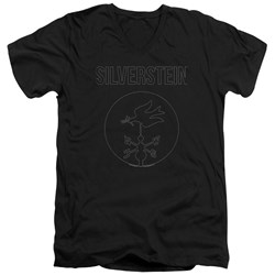 Silverstein - Mens Contour V-Neck T-Shirt
