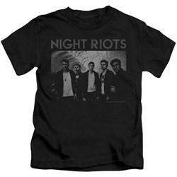 Night Riots - Youth Greyscale T-Shirt