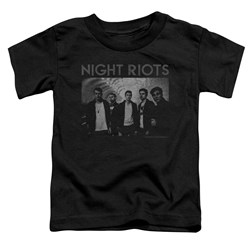 Night Riots - Toddlers Greyscale T-Shirt