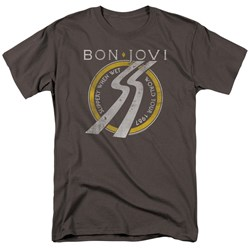 Bon Jovi - Mens Slippery When Wet World Tour T-Shirt