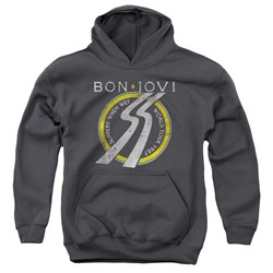 Bon Jovi - Youth Slippery When Wet World Tour Pullover Hoodie