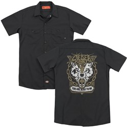 Chelsea Grin - Mens You Are Dead To Me (Back Print) Work Shirt
