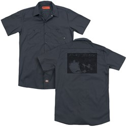 Andy Black - Mens Sideways (Back Print) Work Shirt