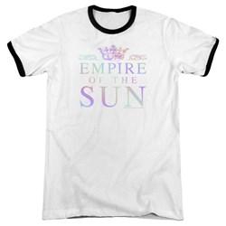 Empire Of The Sun - Mens Rainbow Logo Ringer T-Shirt