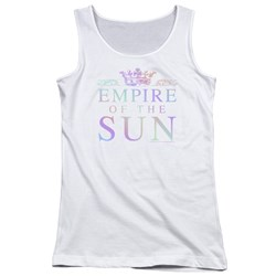 Empire Of The Sun - Juniors Rainbow Logo Tank Top