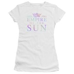 Empire Of The Sun - Juniors Rainbow Logo Premium Bella T-Shirt