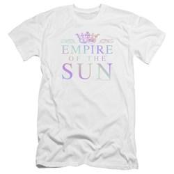 Empire Of The Sun - Mens Rainbow Logo Premium Slim Fit T-Shirt
