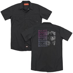Palaye Royale - Mens Torn (Back Print) Work Shirt