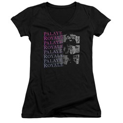 Palaye Royale - Juniors Torn V-Neck T-Shirt