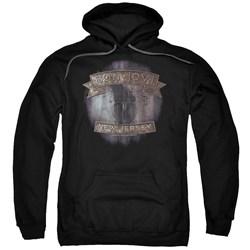 Bon Jovi - Mens New Jersey Pullover Hoodie